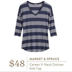 Stitch Fix Market & Spruce Careen Tunic Top